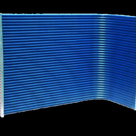 کویل با پوشش آبی
